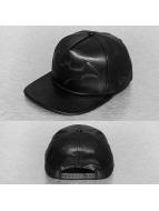 New Era Snapback Caps PU Bevel Batman musta