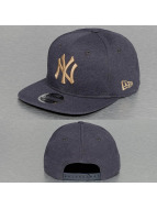 New Era Snapback Caps Seasonal Jersey NY Yankees niebieski
