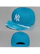 New Era Snapback Caps Paint Up New York Yankees niebieski