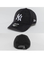 New Era Snapback Caps Heather Team Essential niebieski