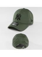 New Era Snapback Caps League Essential oliwkowy