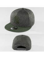 New Era Snapback Caps Heather Jersey oliwkowy