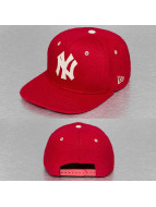 New Era Snapback Caps Felt Wool NY Yankees punainen