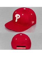 New Era Snapback Caps Felt Wool Philadelphia Phillies punainen