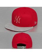 New Era Snapback Caps Reflect Vize New York Yankees punainen