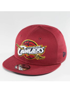 New Era Snapback Caps Team Classic Cleveland Cavaliers punainen