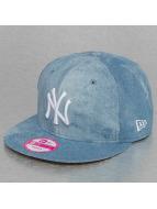 New Era Snapback Caps Sum Wash Snap Ney York Yankees 9Fifty sininen
