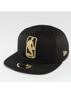 New Era League Logo NBA Logo 9Fifty Snapback Cap Black/Golden