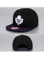 New Era Snapback Caps Cotton Block Toronto Maple Leafs svart