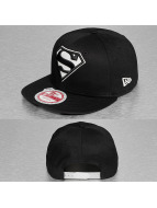 New Era Snapback Caps Glow In The Dark Superman 9Fifty svart