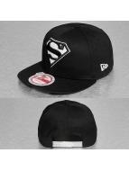 New Era Snapback Caps Glow In The Dark Superman 9Fifty svart