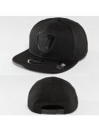 New Era Snapback Caps Tonal Logo Weld Oakland Raiders svart