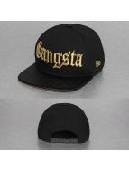 New Era Snapback Caps Gangsta 9Fifty svart