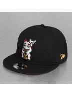 New Era Snapback Caps Cat 9Fifty svart