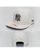 New Era Snapback Caps Pop Outline 2 NY Yankees szary