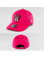 New Era Snapback Caps Essential Minnie Mouse 9Forty vaaleanpunainen