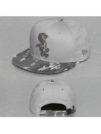 New Era Snapback Camo Break Chicago White Sox gris