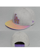 New Era Snapback Multi Slick Los Angeles Dodgers gris