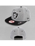 New Era Snapback Nylon Mesh Oakland Raiders noir