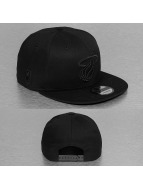 New Era Snapback NBA Black On Black Miami Heat noir
