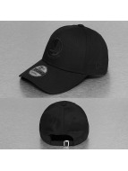 New Era Snapback NBA Black On Black en State Warriors 9Forty noir
