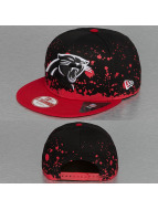 New Era Snapback Splatter Carolina Panthers 9Fifty noir