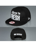 New Era Snapback Sorry Im Fresh 9Fifty noir