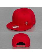 New Era Snapback MLB NY Yankees Flawless Metal rouge