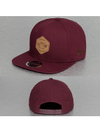 New Era Snapback Canvas Hex Patch 9Fifty rouge