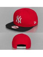 New Era Snapback Triple Season New York Yankees rouge