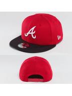 New Era Snapback Diamond Mix Atlanta Braves rouge