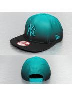 New Era Snapback Fade Out NY Yankees turquoise
