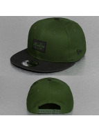 New Era Snapback Contrast Heather Patch 9Fifty vert