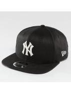 New Era Snapbackkeps Linen Felt NY Yankees Cooperstown svart