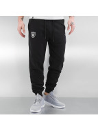 New Era Spodnie do joggingu Team Apparel French Terry Oakland Raiders czarny