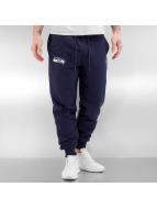 New Era Spodnie do joggingu Team Apparel French Terry Seattle Seahawks niebieski