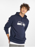 New Era Sweat à capuche Team Logo Seattle Seahawks bleu