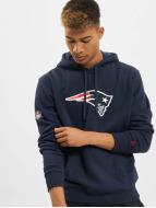 New Era Sweat à capuche Team Logo New England Patriots bleu