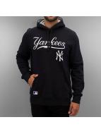 New Era Sweat à capuche MLB NY Yankees bleu
