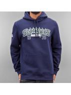 New Era Sweat à capuche Team Wordmark Seattle Seahawks bleu