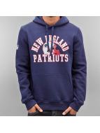 New Era Sweat à capuche Team Wordmark New England Patriots bleu
