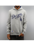 New Era Sweat à capuche MLB LA Dodgers PO gris