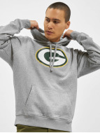 New Era Sweat à capuche Team Logo Green Bay Packers gris