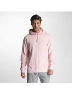 New Era Sweat à capuche Sandwash rose