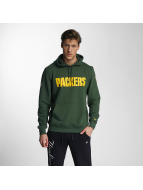 New Era Sweat à capuche Team App Green Bay Packers vert