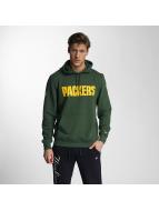 New Era Sweat à capuche Team App Green Bay Packers vert