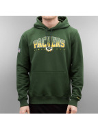 New Era Sweat à capuche NFL Fan vert