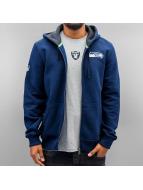 New Era Sweat à capuche zippé NFL Full Seattle Seahawks bleu