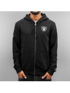 New Era Sweat à capuche zippé NFL Full Oakland Raiders noir