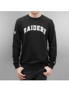 New Era Sweat & Pull Team Apparel Oakland Raiders noir